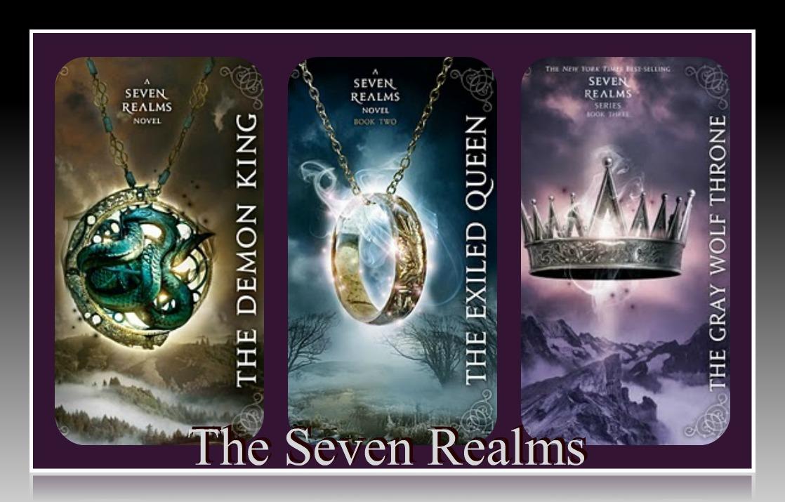 The Seven Realms Series - Cinda Williams Chima